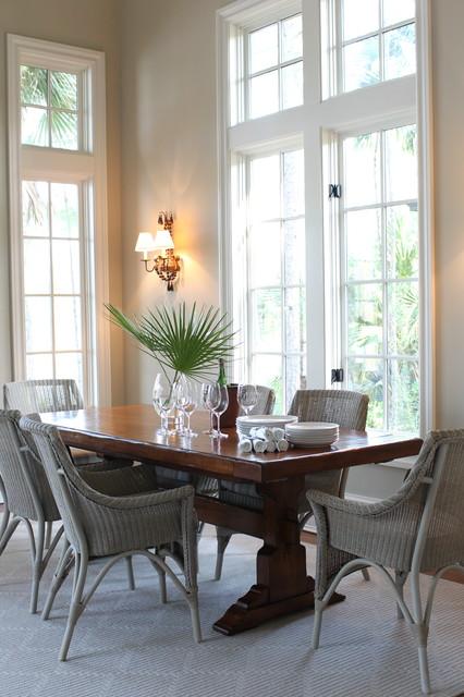 Kiawah Vacation Home beach-style-dining-room