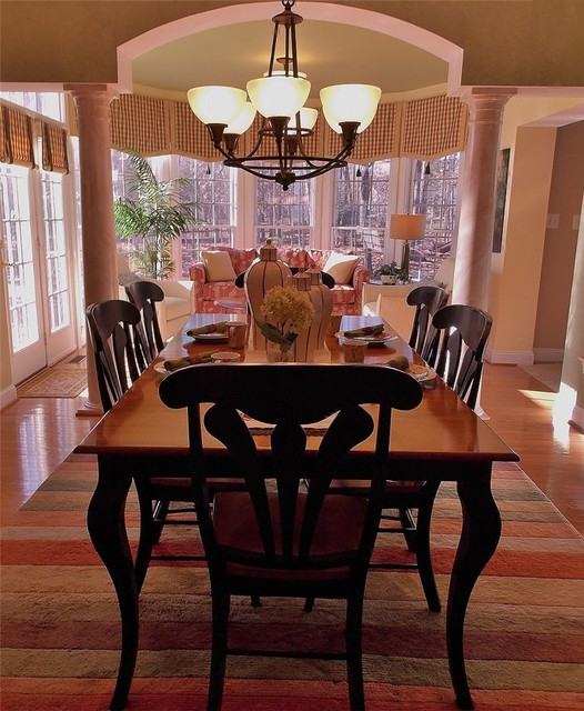 Kid Friendly Yet Elegant Transitional Dining Room Dc Metro By Belfort Furniture