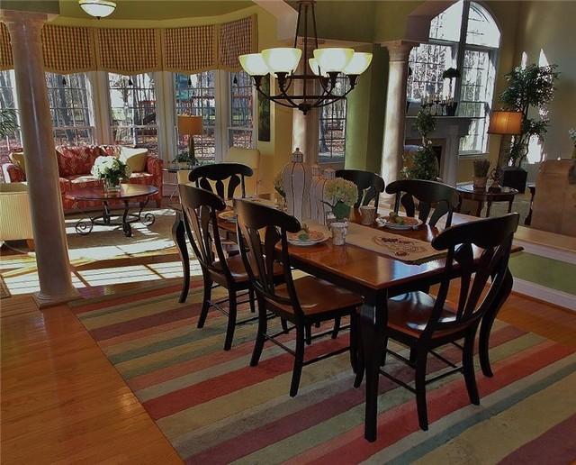 Kid Friendly Yet Elegant Transitional Dining Room Dc