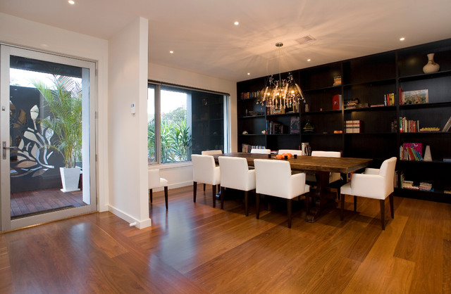 King Of Melbourne By Design Unity Modern Dining Room
