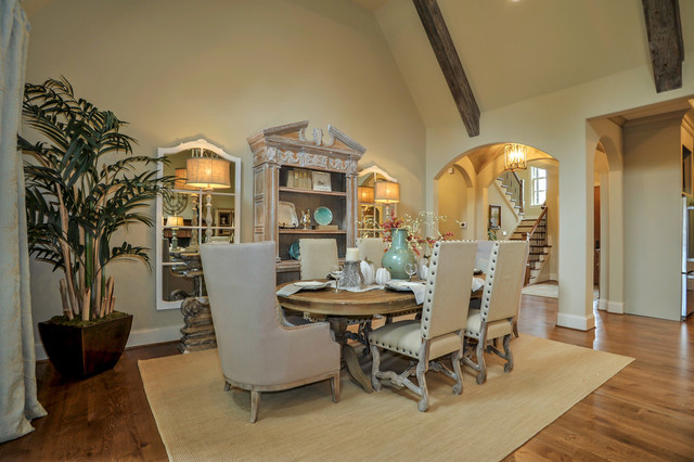 Kings Chapel Community Showcase Homes traditional-dining-room
