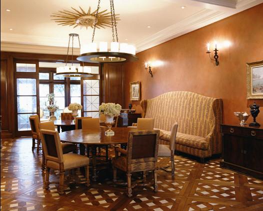kip drive traditional-dining-room