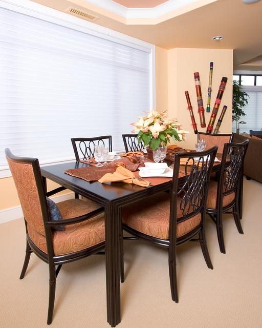 Transitional Dining Room Design Ideas: Kirkland, Contemporary Condo
