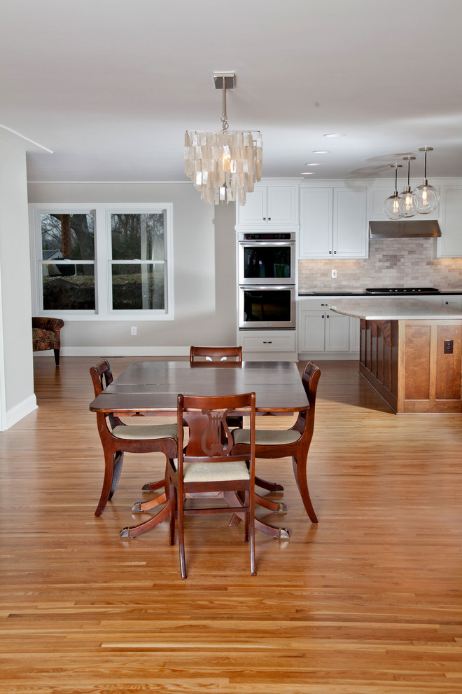 Inspiration for a dining room remodel in Minneapolis