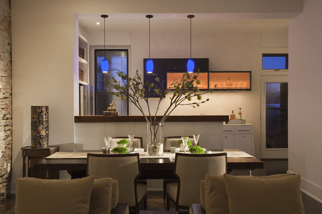 Kitchen contemporary-dining-room