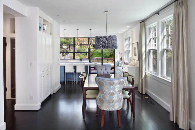 Kitchen Delight in DC contemporary-dining-room