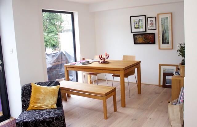 Kitchen Extension, Bathroom Refit & Internal Remodelling modern-dining-room