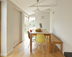 Kitchen remodelling in South Bristol midcentury-dining-room