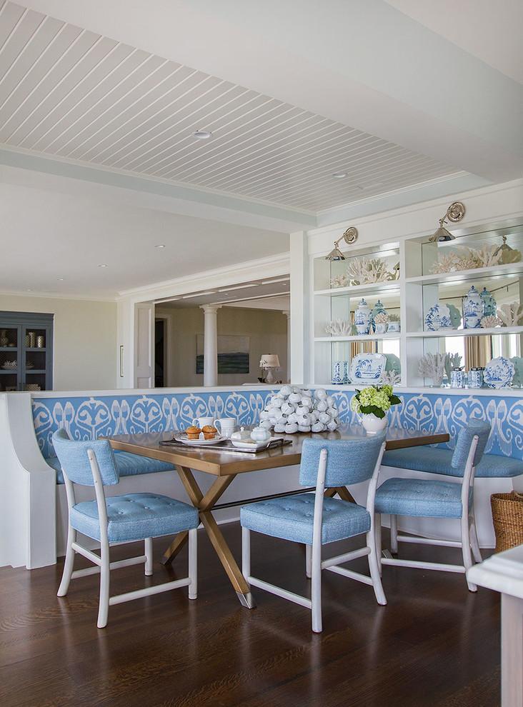 Dining room - coastal dining room idea in Jacksonville