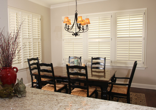 Kitchen Shutters traditional-dining-room