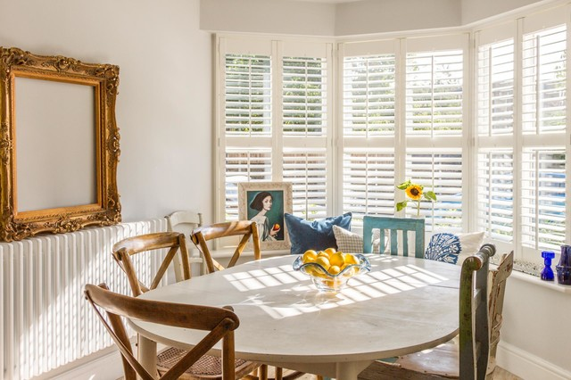 Kitchen Table With Mismatched Vintage Chairs Country