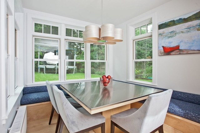 Kitchens built by TRC contemporary-dining-room