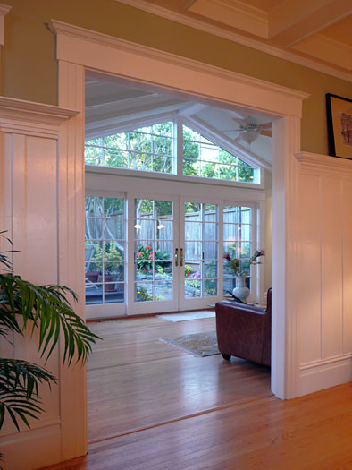 Klopf architecture sun room addition traditional Room addition ideas