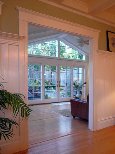 Klopf Architecture Sun Room Addition Traditional