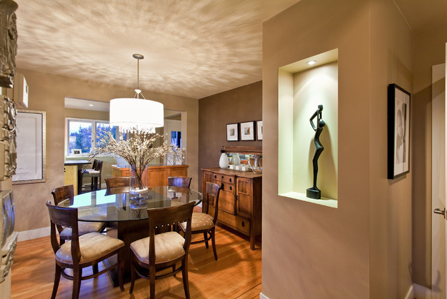 Krahn Residence contemporary dining room
