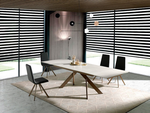 Boheme Dining Table Contemporary Dining Room London By Cadira Houzz Uk