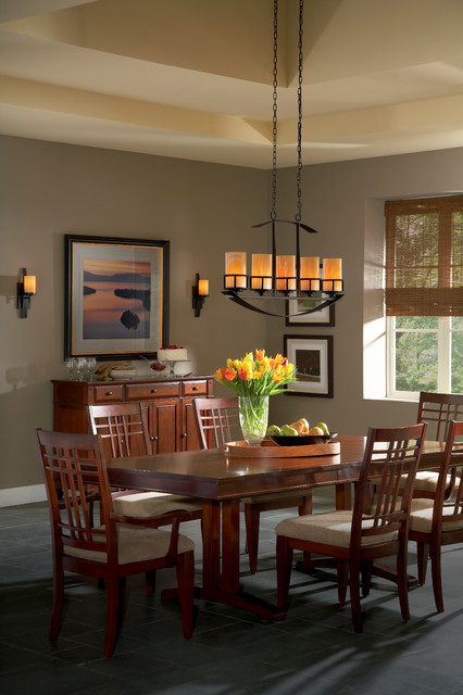 Wall Sconces In Dining Room : Kyle Island Light and Wall Sconces from Quoizel Lighting - Dining Room - by 1800Lighting
