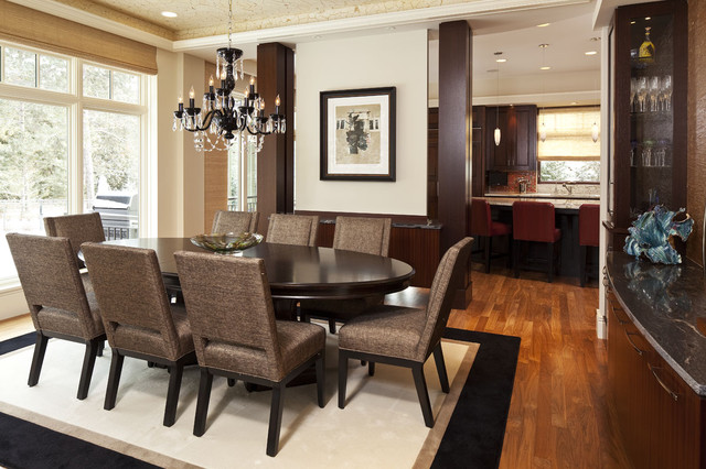 L. Cramer Builders + Remodelers eclectic-dining-room