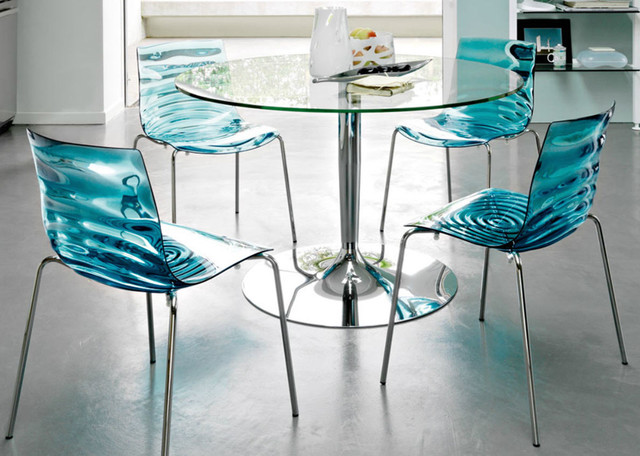 L Eau Chair By Calligaris Contemporary Dining Chairs