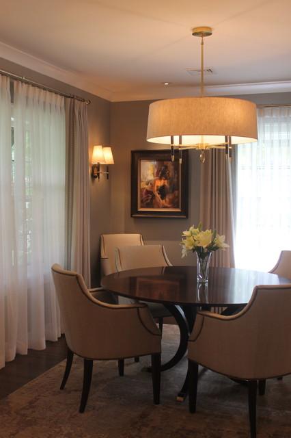 La crosse transitional renovation 1 dining room for Best transitional dining rooms