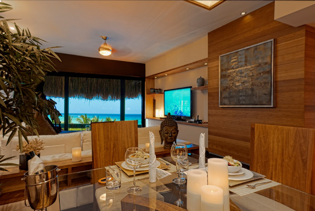 La Divina Tropical Dining Room Other Metro By