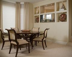 LA JOLLA CONDO- DINING ROOM contemporary-dining-room