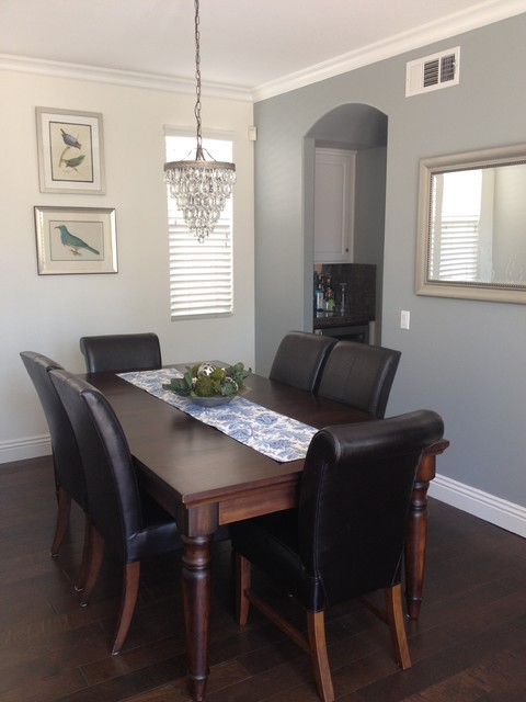 Ladera ranch interior upgrade transitional dining room for Dining room upgrades