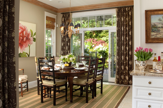 Lafayette Residence Traditional Dining Room San Francisco By Kathleen Burke Design