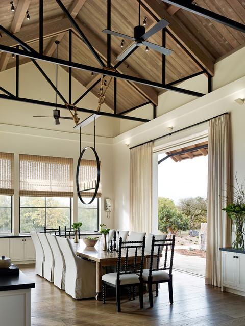laguna de santa rosa residence farmhouse dining room san