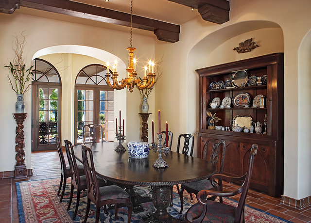 Lake Home Dining Rustic Room Austin By