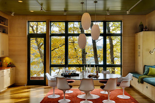Lake House Contemporary Dining Room Burlington By