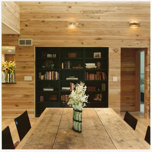 Lake House rustic-dining-room