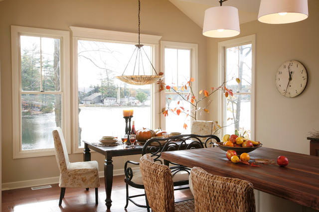 Lake House Eclectic Dining Room Grand Rapids By