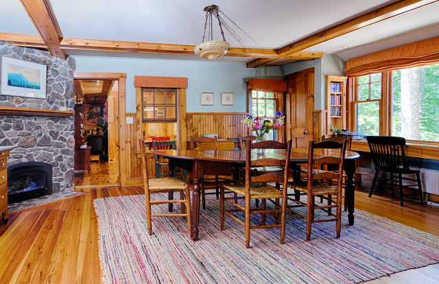 Lake House Makeover traditional-dining-room
