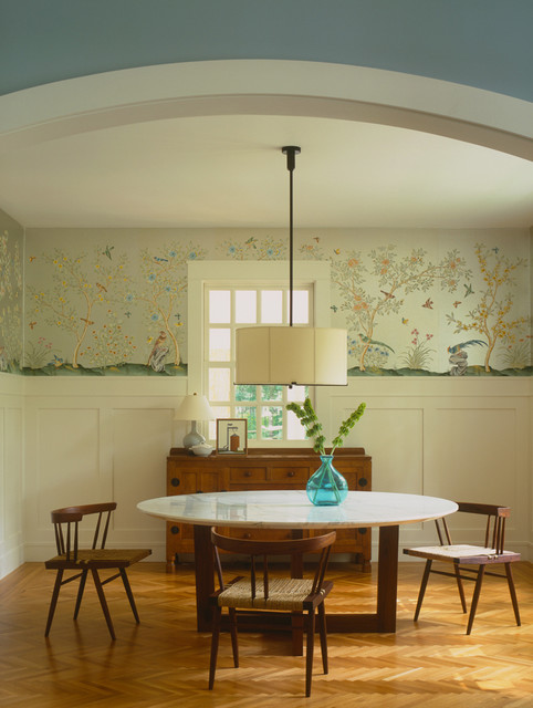 Lake Michigan House eclectic dining room