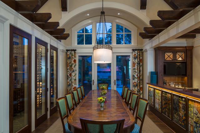Lake Minnetonka Home Traditional Dining Room