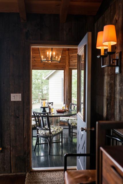 Lake Muskoka rustic-dining-room