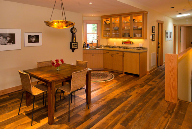 Lake Oswego Lake remodel eclectic-dining-room