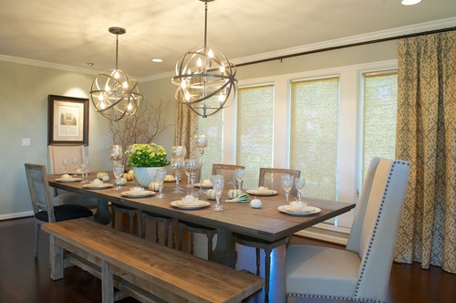 ... Bench Seating At A Dining Table? Lake Oswego Main Floor Remodel