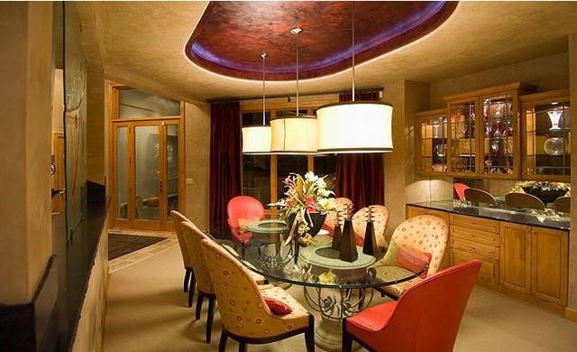 Lake Retreat contemporary-dining-room