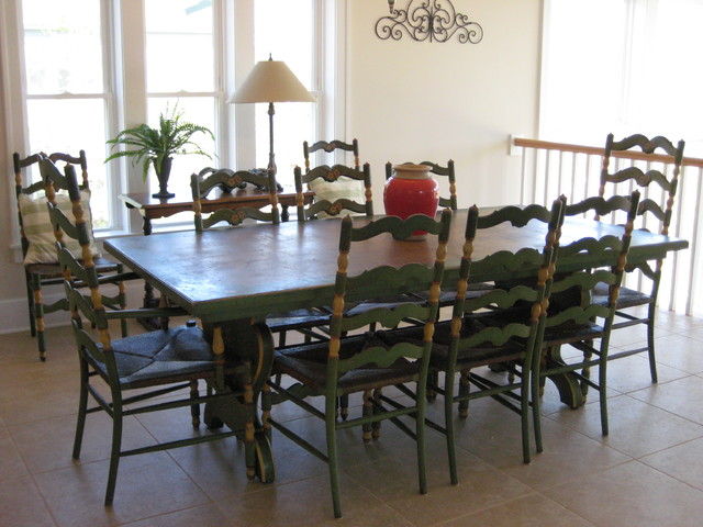 egan retreat beach style dining room chicago by plaid rabbit