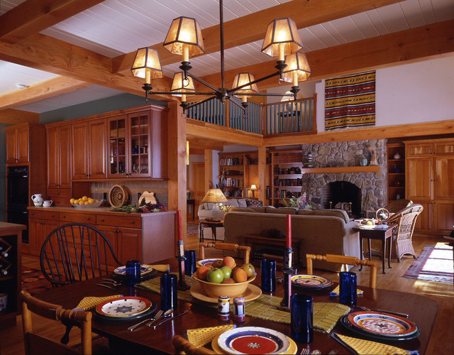 Lake Sunapee Nh Traditional Dining Room Manchester