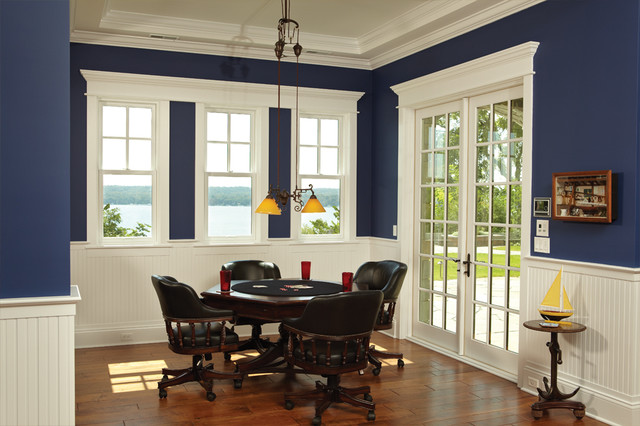 Lakeview dining room traditional dining room by for Dining room windows