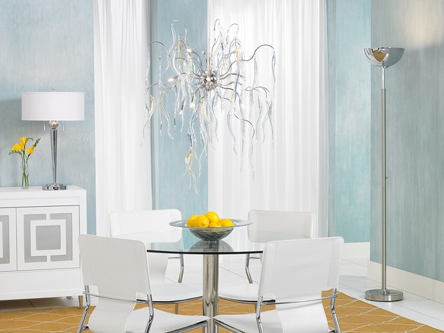 LAMPS PLUS modern dining room