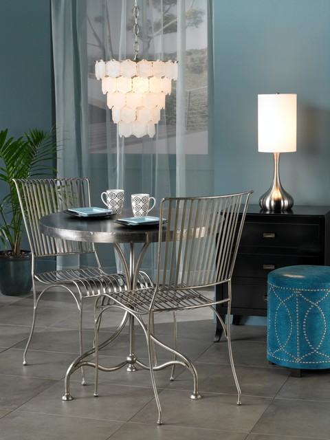 LAMPS PLUS contemporary dining room
