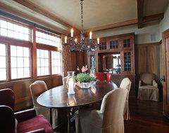 Landrum SC residence traditional-dining-room