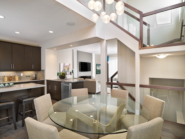 Larch Park Intrigue Showhome contemporary-dining-room