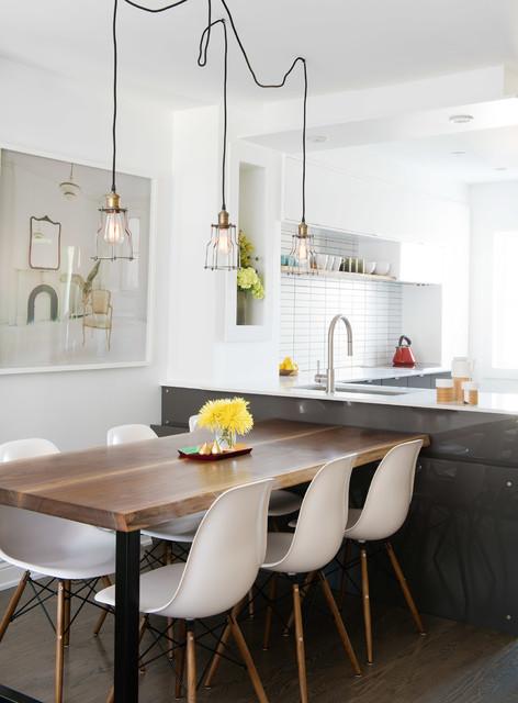 einfach zur seite rollen esstisch anrichte und. Black Bedroom Furniture Sets. Home Design Ideas
