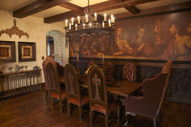 Last Supper Traditional Dining Room Dallas By Emmanuel Design Group Llc