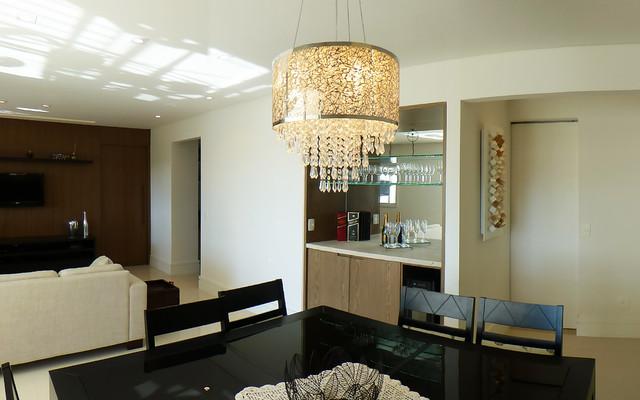 Lauzane Paulista Apto contemporary-dining-room